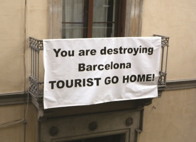 TOURISTS GO HOME