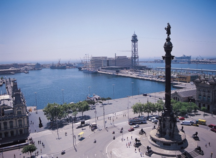 barcelona imagen puerto