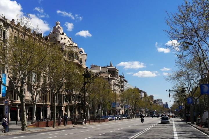 Paseo de Gracia. Foto: Ajuntament de Barcelona