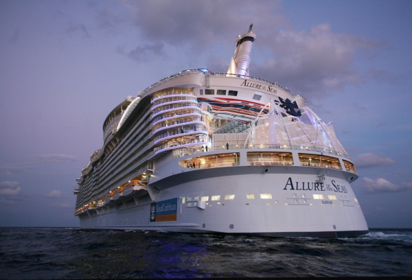 allure of the seas, barcelona
