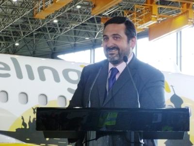 Álex Cruz, presidente de Vueling.