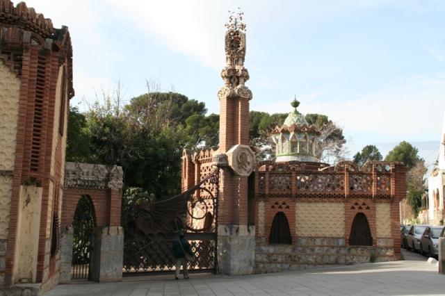 pabellones güell Gaudí