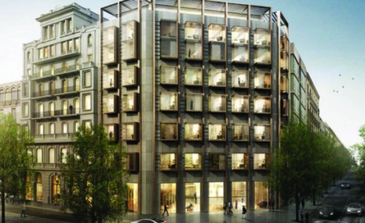Imagen promocional del nuevo hotel facilitada por la empresa WSF
