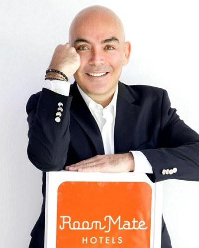 Kike Sarasola, fundador de Room Mate Hotels