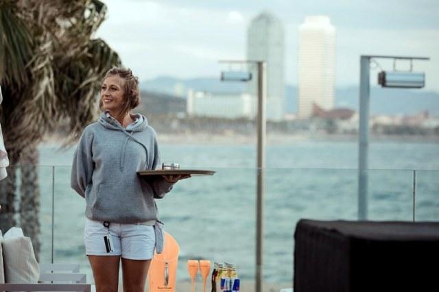 Imagen de uno de los castings de empleo realizado anteriormente en el hotel W Barcelona.