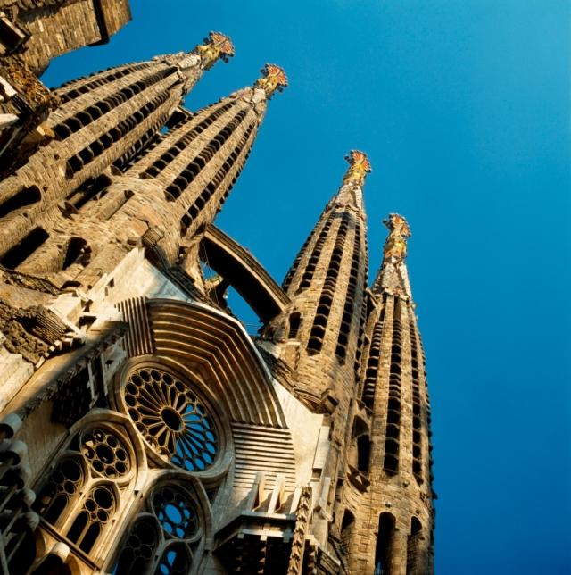 Templo de la Sagrada Familia, Barcelona.