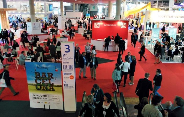 Imagen de un congreso celebrado en Fira de Barcelona.
