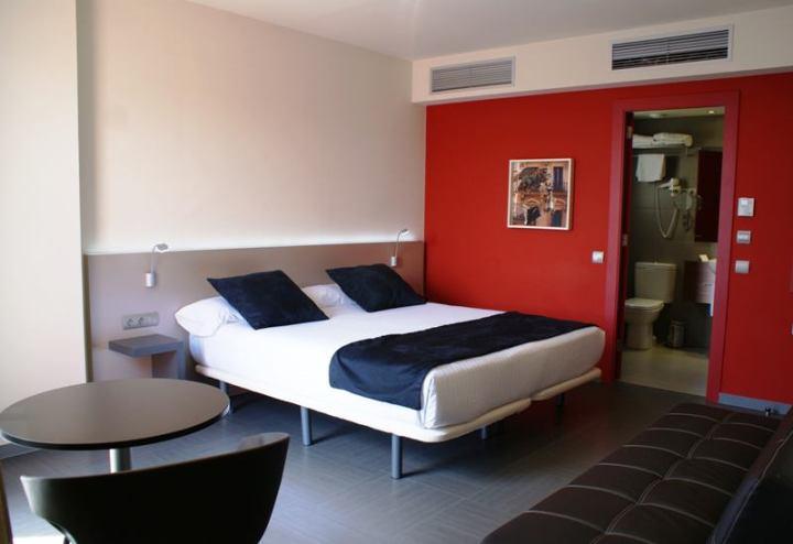 Una de las habitaciones del Leonardo Boutique Hotel Barcelona Sagrada Familia