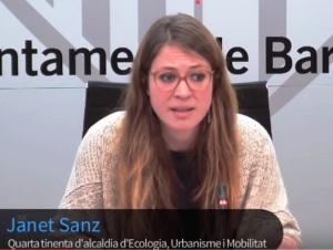 Janez Sanz, concejala de Urbanismo del Ayuntamiento de Barcelona