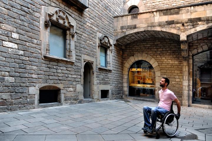 Turismo accesible en Barcelona.