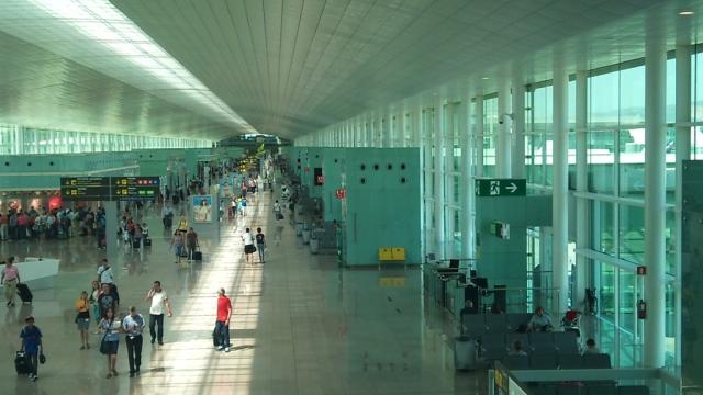 La terminal 1 del Aeropuerto de Barcelona.