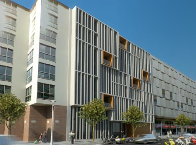 La fachada del nuevo hotel Ohla Eixample