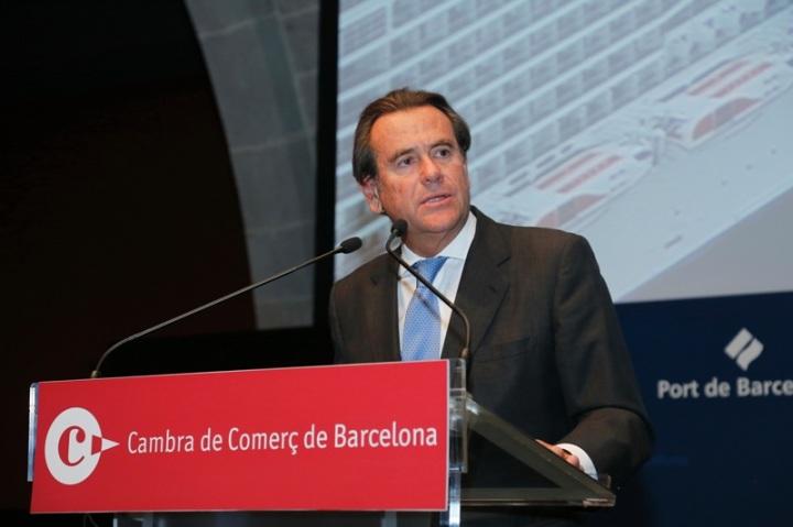 Sixte Cambra, presidente del Puerto de Barcelona