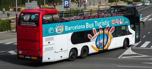 barcelona bus turístic foto