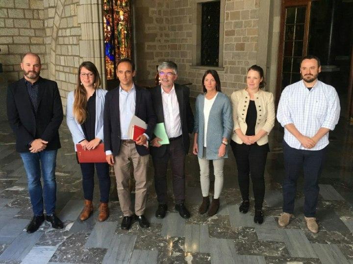 trobada lloguer turístic amb Ajuntament Barcelona