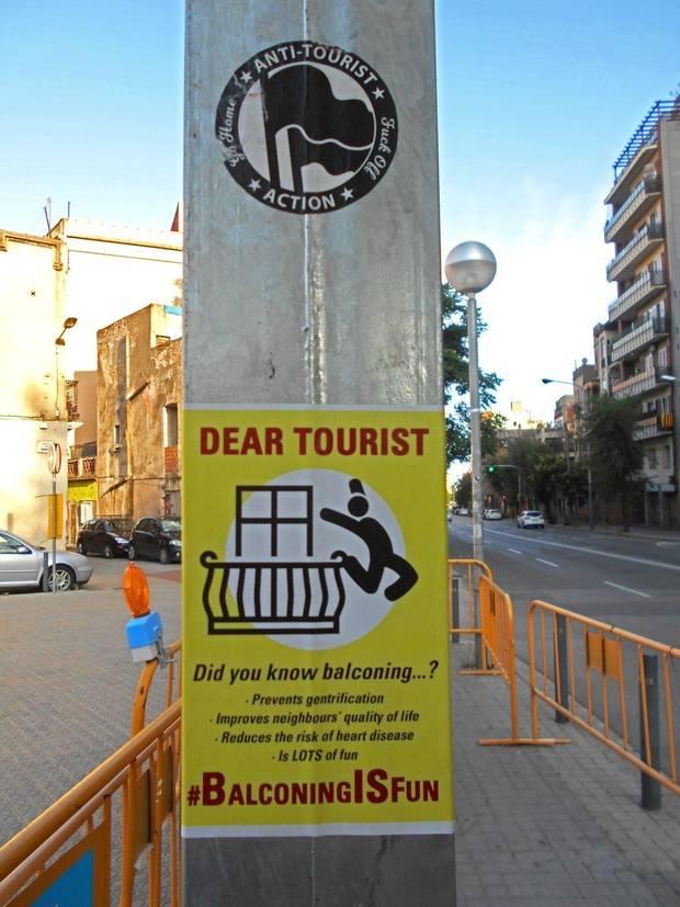 balconing in Barcelona