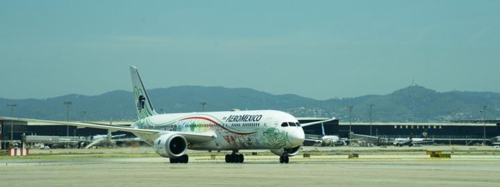 aeromexico aeropuerto barcelona